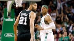 Pierce vs Duncan. I preferiti di Ciombe e Nick