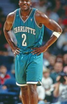 Larry Johnson ai tempi di Charlotte