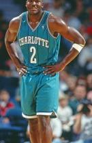 Larry Johnson ai tempi di Charlotte