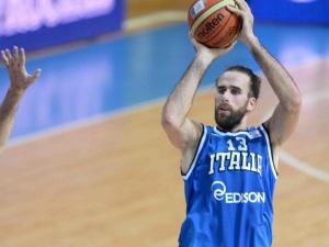 Gigi Datome, capitano azzurro (Foto tratta da Fip.it)